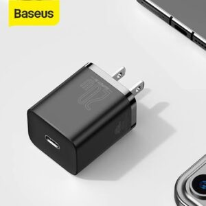 Baseus Super Si Quick Charger Type-C PD 20W For iPhone 12 CN Plug