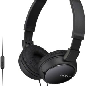 Sony MDR-ZX110AP Extra Bass Smartphone Headset With Mic (Black)