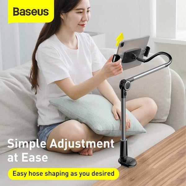 Baseus Otaku Life Rotary Adjustment Lazy Holder - Dark grey
