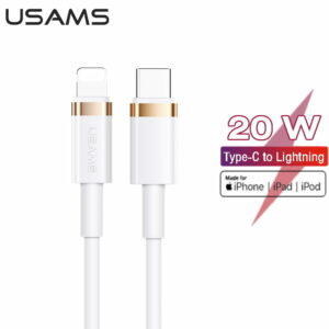 USAMS U63 Type-C To Lightning 20W PD Fast Charging Data Cable