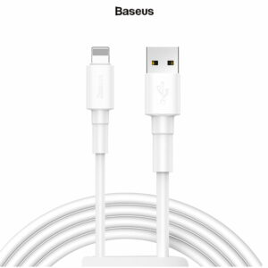 Baseus Mini White Data Cable For Lightning 2.4A