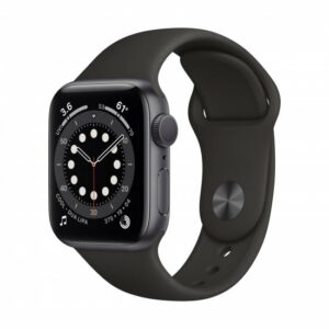 Apple Watch Series 6 Grey Sport Band 44mm GPS- Black