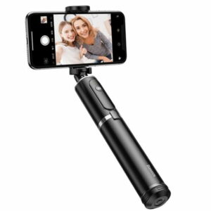 Baseus SUDYZP-D1S Full Storage 360 Degree Rotating Bluetooth Selfie Stick For Mobile Phones Below 6.5 Inch