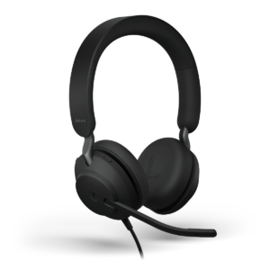 Jabra Evolve2 40 Wired On-Ear Headset USB-A