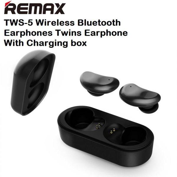 Remax TWS-5 Wireless Bluetooth Earphones