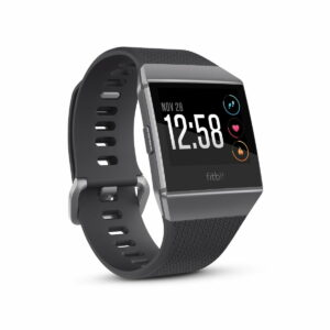 Fitbit ionic Smartwatch Charcoal / Smoke Gray