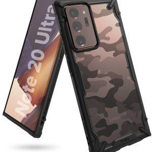 Ringke Fusion X Plastic Cover Samsung Galaxy Note 20 Ultra - Camo Black