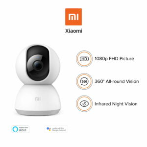 Xiaomi Mi Home Security Camera 360 1080P Voice Control With Google Asisstance Alexa MJSXJ02CM- GLOBAL VERSION