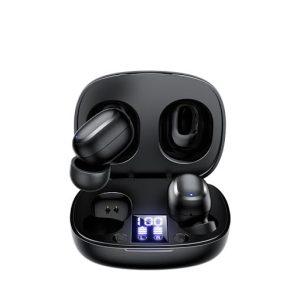 Joyroom JR-TL5 TWS Wireless Bluetooth Digital Display HD Stereo Noise Cancelletion - Black