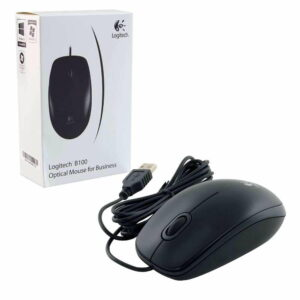 Logitech B100 Corded - Wired USB Mouse