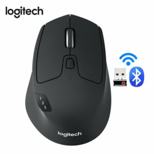 Logitech M720 Triathlon Wireless Optical Mouse - Black