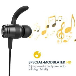 Mpow S10 IPX7 Waterproof In-Ear Earphone Sports Bluetooth 4.1 Magnetic Earbuds 8H Playing Time