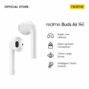 Realme Buds Air Neo Bluetooth True Wireless Headset - White