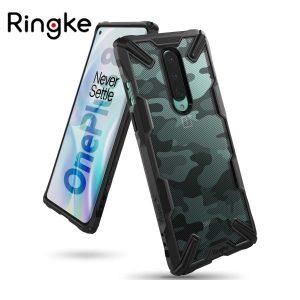 Ringke Fusion X Plastic Back Cover OnePlus 8 - Camo Black