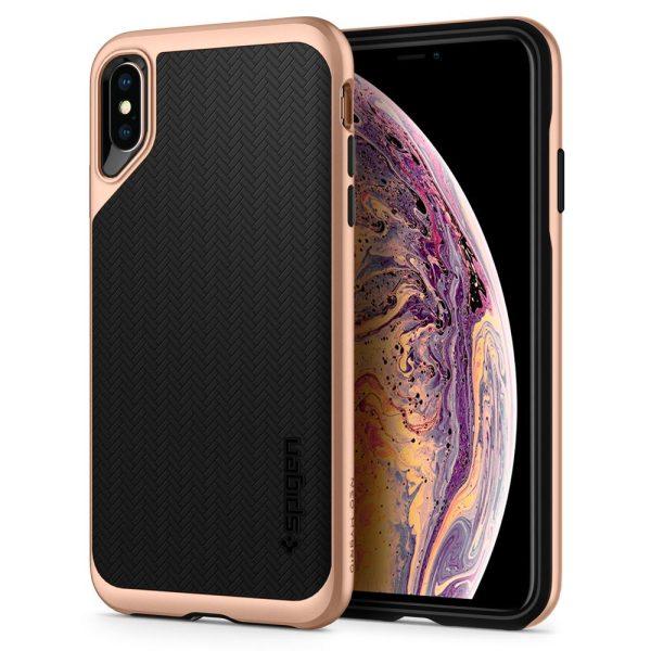 Spigen iPhone XS Max Case Neo Hybrid – Blush Gold 065CS25353