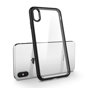 iPhone XS Max Case Spigen Ultra Hybrid Matte Black 065CS25128