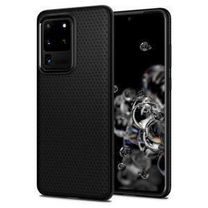 Spigen Case Galaxy S20 Ultra Liquid Air - Matte Black