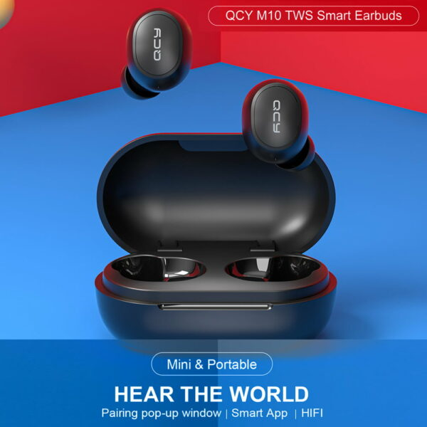 QCY M10 True Wireless Earbuds 5.0V 20Hrs Playtime