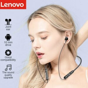 Lenovo QE03 Neckband Bluetooth Earphone Active Noise Cancellation 5.0V