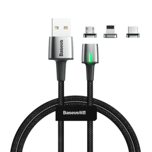 Baseus Zinc Magnetic 3 in 1 Cable Kit iP